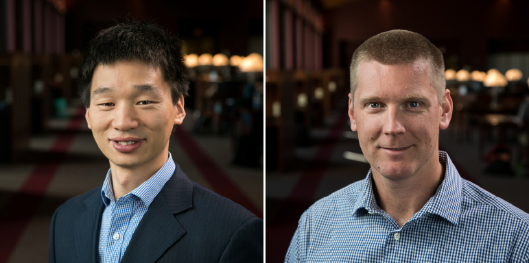 Professors Greg Liu and John Matson