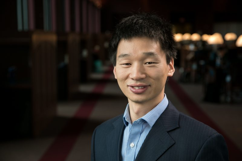 Photo of Prof. Greg Liu