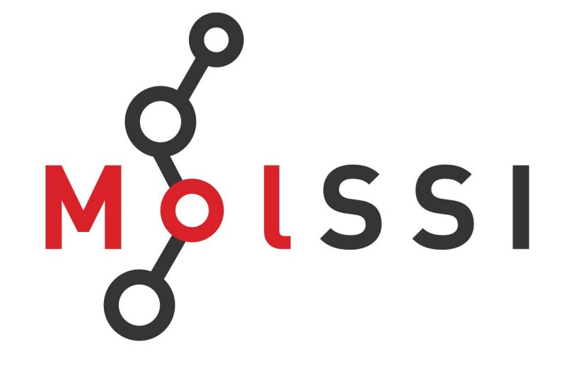 Graphic logo of the Molecular Sciences Software Institute